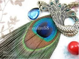 Peacock feather jewelry Likings are verities man to man. Some peoples like to adorn self gorgeously and few are likes to decorate them simply. As we know that if you want to adorn yourself then at first you will select jewelry in your decorating thing....
