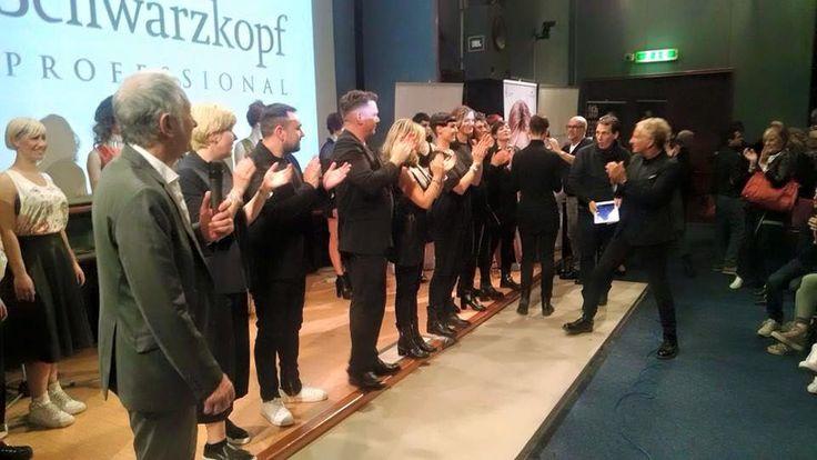 #Schwarzkopf #essentiallooks 1/2015 C.A.C.F. 03/2015 Bologna   New Idenova