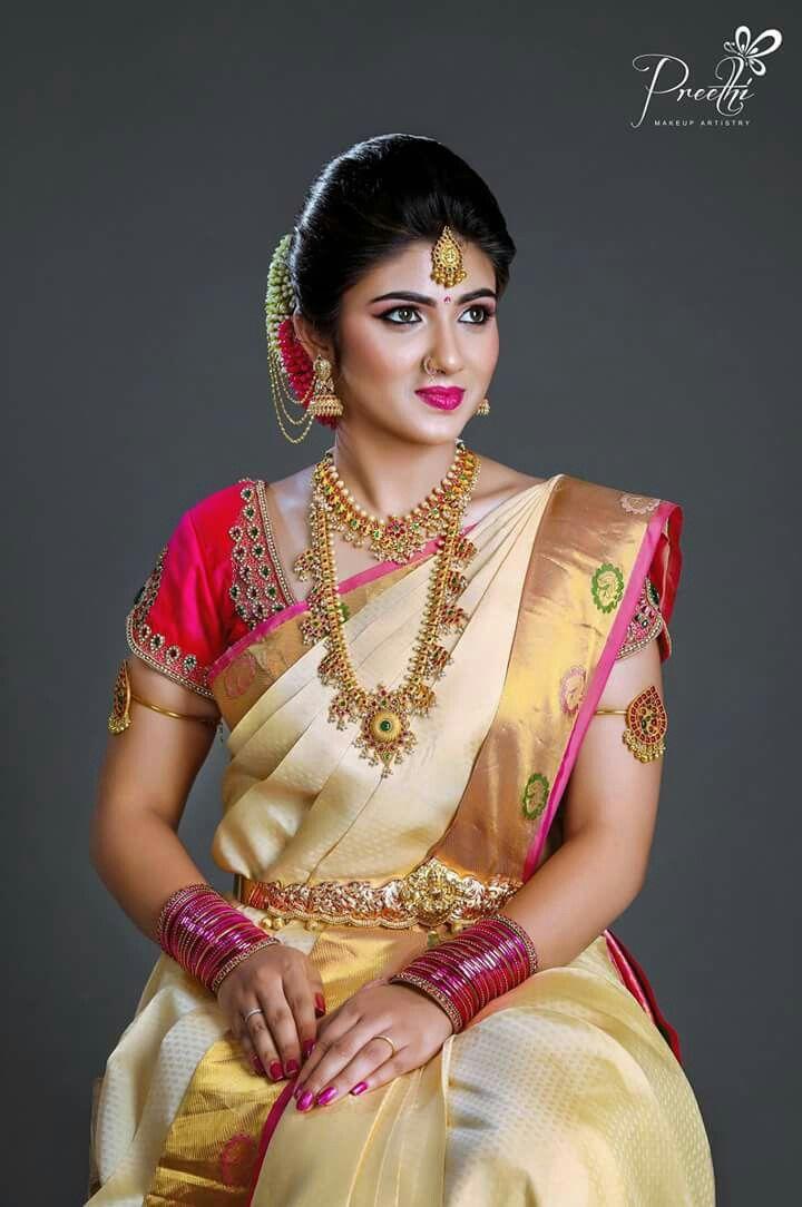 Best 25 South indian jewellery ideas on Pinterest  Telugu brides Bridal sarees south indian