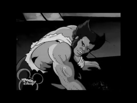 Logan - Black and White Trailer Edit - 1990's X-Men & X-Men Evolution Cartoon Style