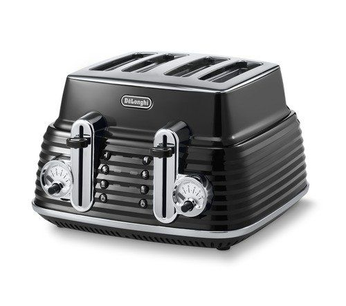 De'Longhi CTZ 4003 BK Scultura - designový topinkovač / toaster