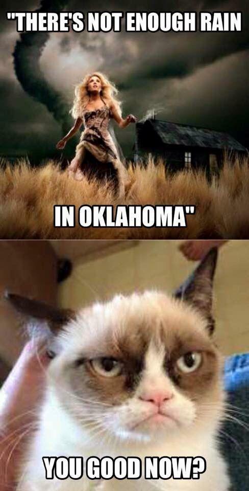 Oklahoma weather | Oklahoma Meme | Weather memes, Funny ...