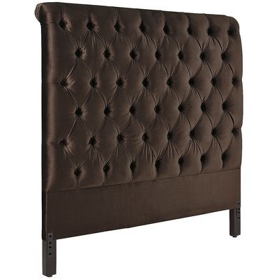 Audrey II Upholstered Mocha Brown Headboard | Pier 1 Imports