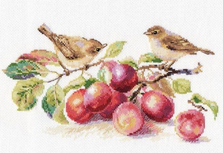 Набор для вышивания Алиса 5-17 Пеночки и слива