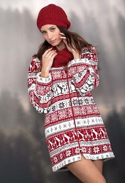 Batín invierno mujer Massana modelo Pinguino. http://www.perfumeriaelajuar.com/homewear/batines-mujer--invierno/32/