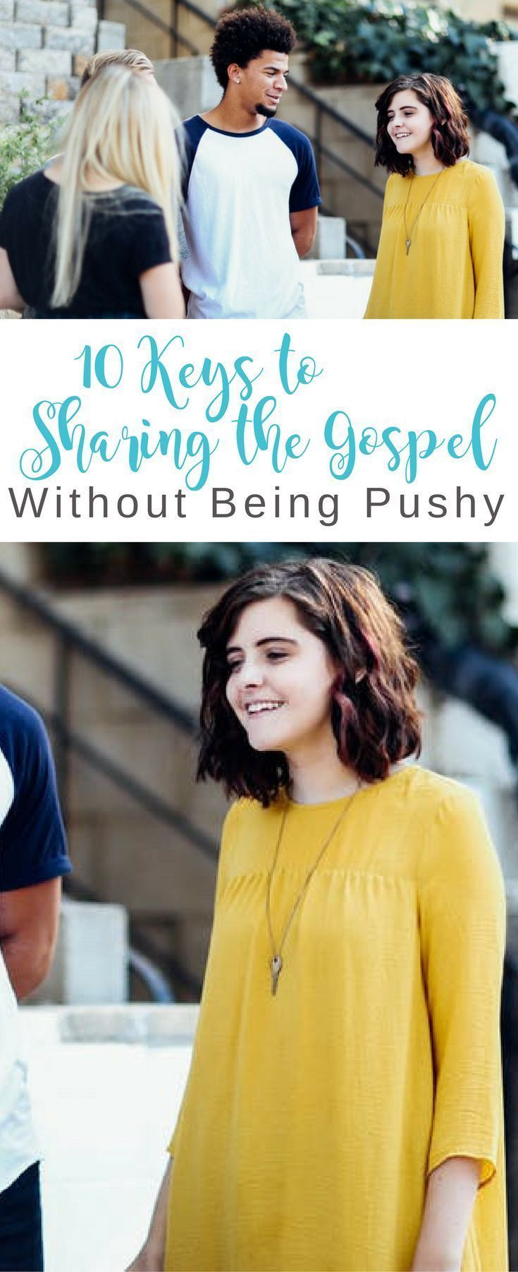 10 Keys to Sharing the Gospel Without Being Pushy | Evangelism, Discipleship | Mini-Tip Monday | Scripture Confident Living