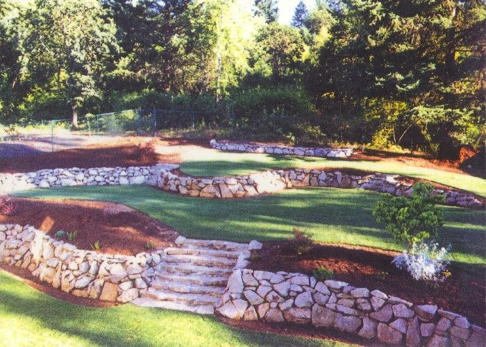 Rock wall landscaping | GREG BUCHANAN - Outdoor Fire Pits - Imperative for Secure Outside ...