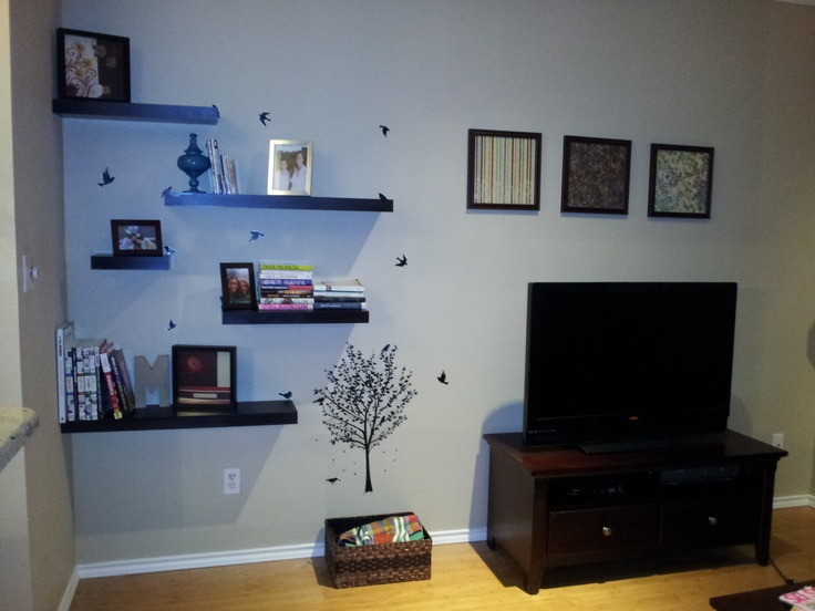 Floating shelves: Wall Decal