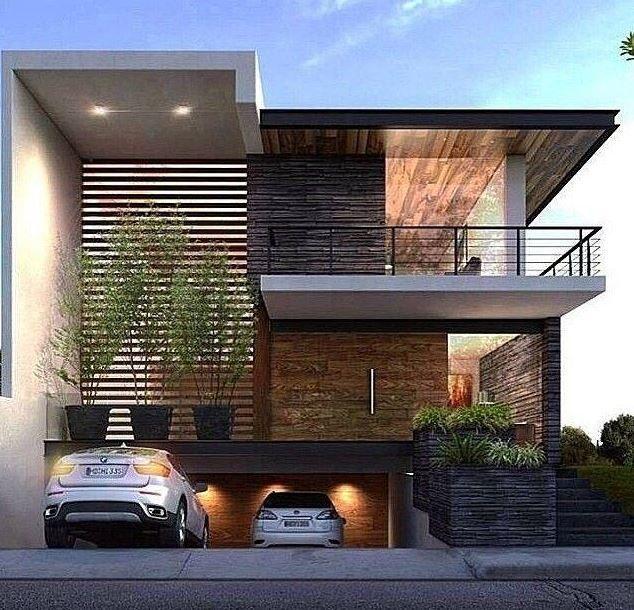 17 mejores ideas sobre fachadas de casas modernas en for Casas modernas en washington