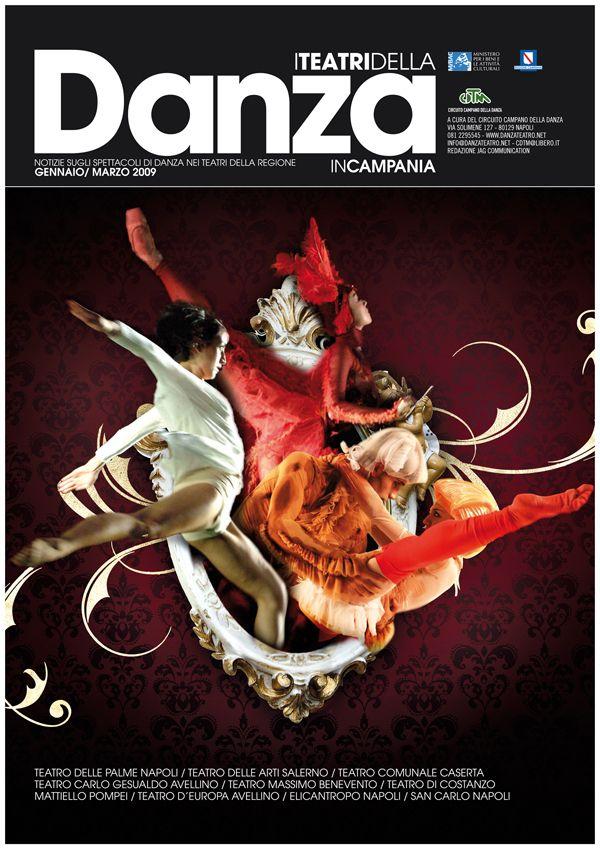 I teatri della danza magazine by Giovanna Grauso, via Behance