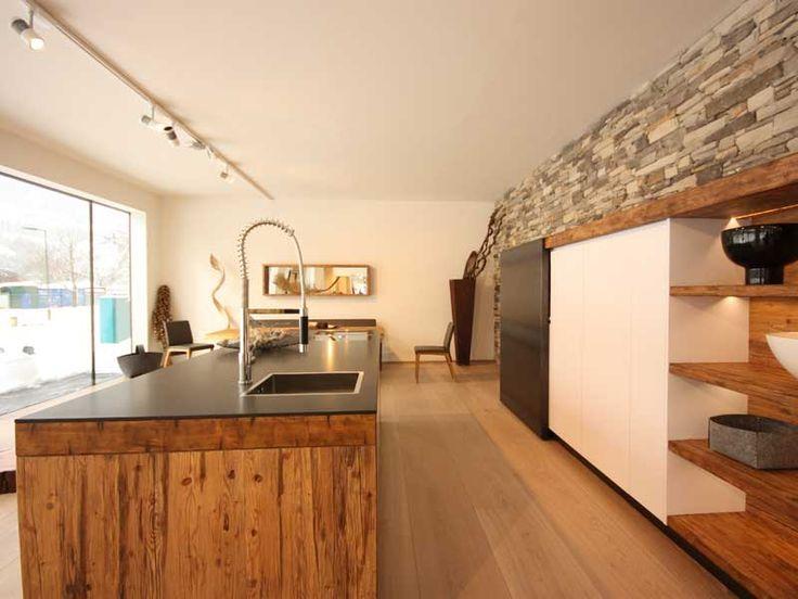 Massivholzküche Innenausbau Pinterest