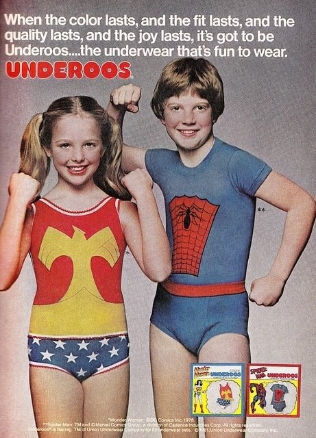 I had these and loved them!Remember, 80S, Wonder Women, Childhood Memories, Things, Kids, Woman Underoos, Wonder Woman