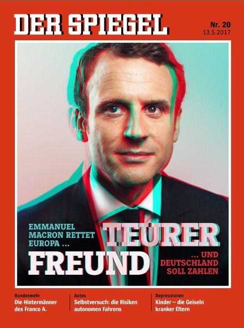 STEREOSCOPYNEWS :: @SPIEGELONLINE 20/2017 Special Edition @EmmanuelMac