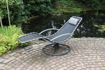Leco Wipp-Liege! Der neue Lieblingsplatz in Ihrem Garten! Diese Liege mit der perfekt abgestimmten Spiralfeder ermöglicht Entspannung im höchsten Maße.