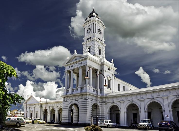Ballarat Historic Railway Station - Victoria - Australia, study abroad please! please! please!