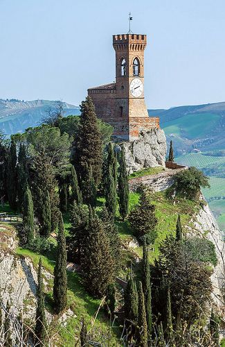 Brisighella (Emilia-Romagna) is a village situated in the Lamone valley, 60 km from the city of Ravenna