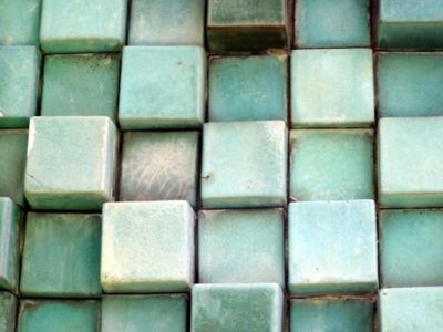 calm, peaceful, beautiful: Green Tile, Aqua Tile, Tile Art, Glasses Tile, Wallpapers Art, Colors, Than, Geometric Shape, Nature Beautiful
