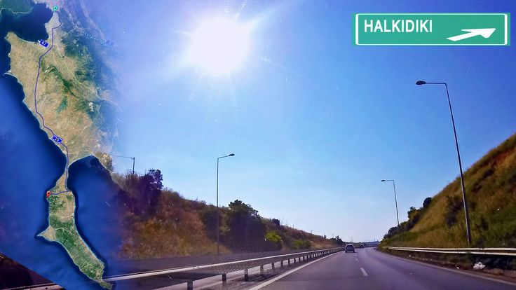 Halkidiki, Greece road map. Thessaloniki - Sani resort time-lapse drive with town exits. Visiting Greece? Driving to Chalkidiki? Find your way  from Thessaloniki to Halkidiki Sani Beach Holiday Resort, even if you are after cheap car rentals holidays. A fast map guide to the beach with exits to Kassandra's peninsula towns. For more travel news & videos like us on  https://www.facebook.com/bestravelvideo   or  follow https://twitter.com/btrvid. #halkidiki #chalkidiki #saniresort #visitgreece