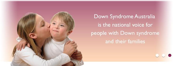 Down Syndrome Australia website