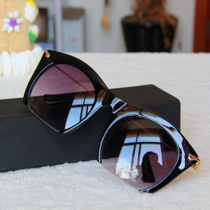 Cat Eye Sunglasses mulheres marca Designer Vintage Semi   sem aro óculos De Sol óculos De Sol Feminino óculos em Óculos Escuros de Moda e Acessórios no AliExpress.com | Alibaba Group