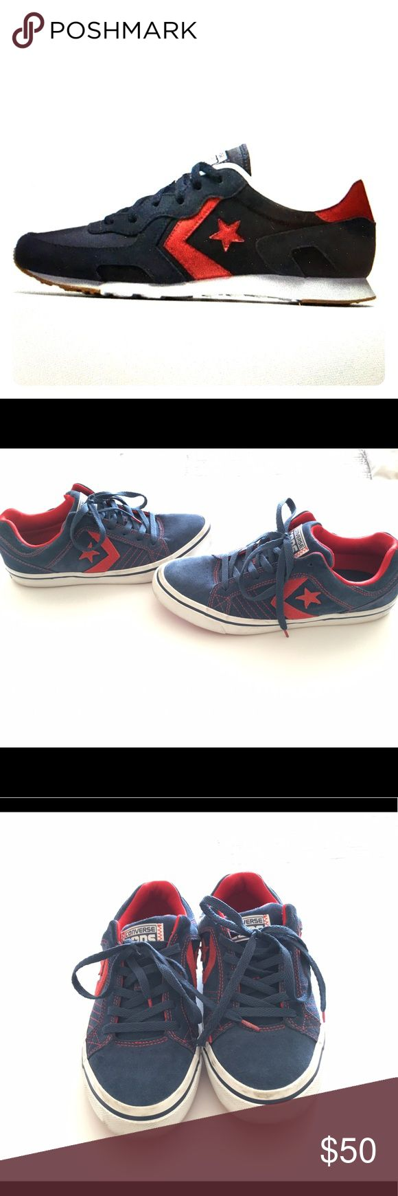 Converse thunderbolt from Nike men shoes blue red A retro running sneaker  re designed with advanced
