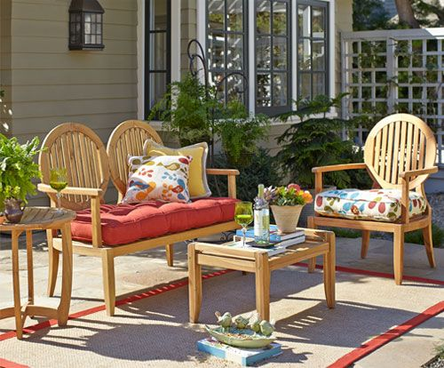 Shop Pier 1 Outdoor Furniture: The Montclair Collection.