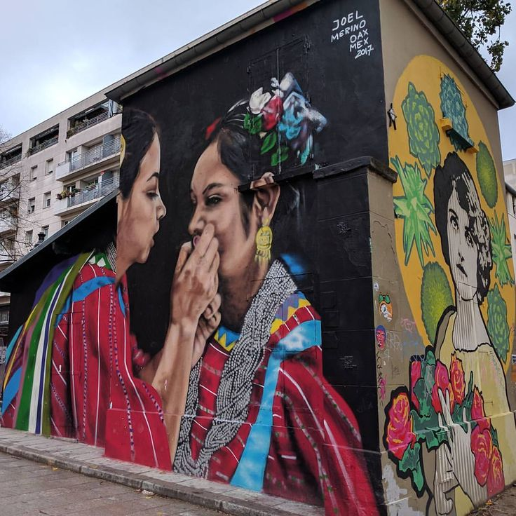 """Mi piace"": 48, commenti: 5 - H. Ceronne (@ceronne) su Instagram: ""Obra de @joelmerinoart en el Canal de l'Ourcq. Mexican art in Paris."""
