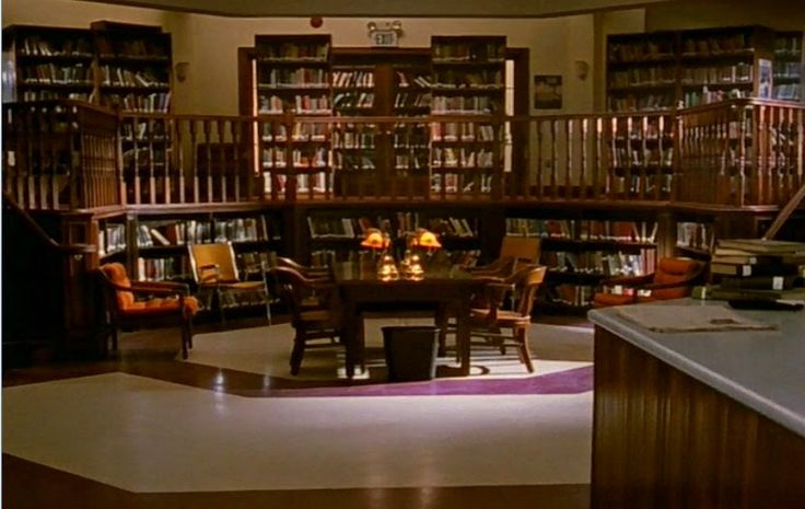 Баффи - истребительница вампиров / Buffy the Vampire Slayer (Сезон 1, серия 1)  Школьная библиотека