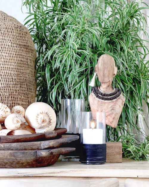 Village - Grounded Earth  A home is a place to reflect, especially of you - the people that live within a space. Having natural wares in your home will provide a true sense of grounding!  Featured: Tribal Bust, Zimbabwe Basket & Giant Baller Shells.  Explore our products online & in stores today.  Showrooms: Bundall & Burleigh Online: www.villagestores.com.au (at Village Stores)