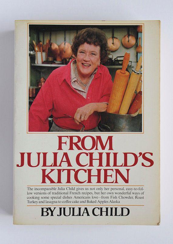 "SIGNED Julia Child Cookbook ""From Julia Child's Kitchen"" by AnemoneReadsVintage"
