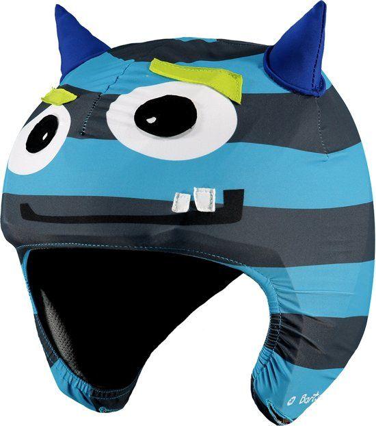 Barts Helmet Cover 3D Monster - Skihelm Cover - Blauw