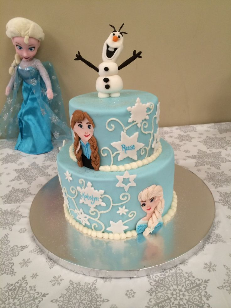 Frozen Birthday Cake Holiday Food Fun Frozen Birthday