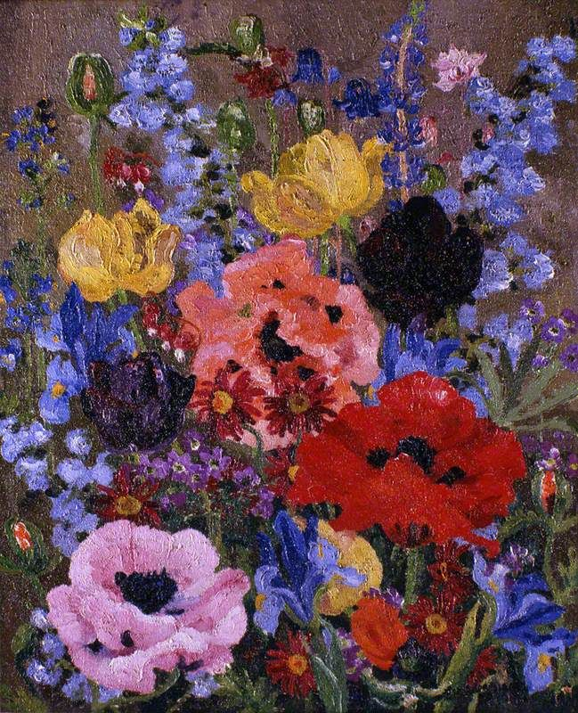 Cedric Morris - Summer Flowers