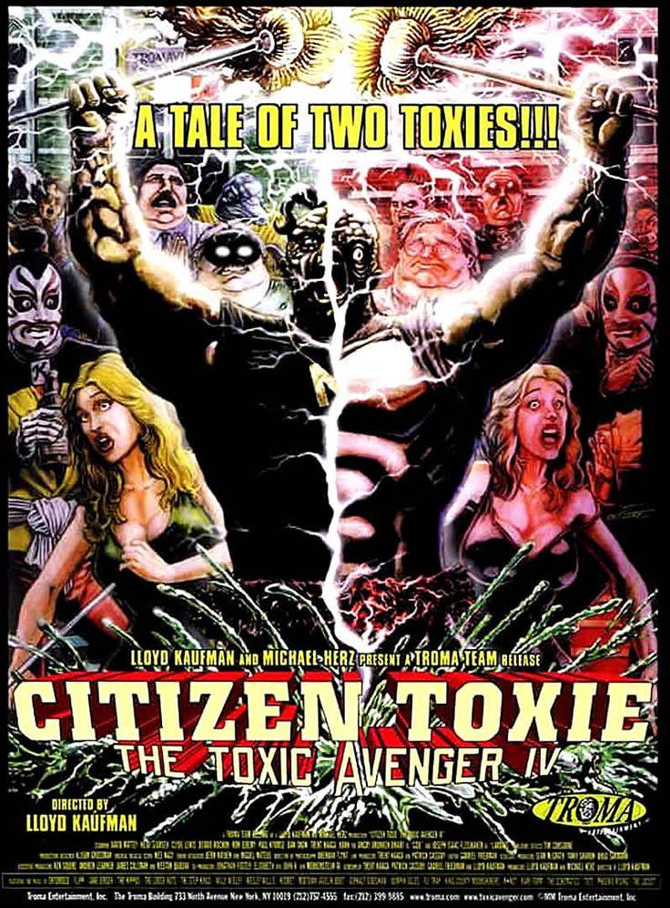 Image result for toxic avenger 4 poster