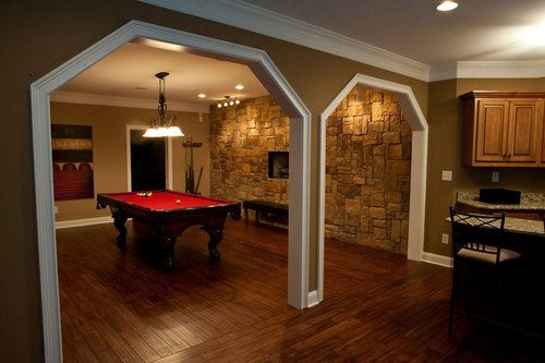 Game Room Which Men Refer To As Man Caves...however, I