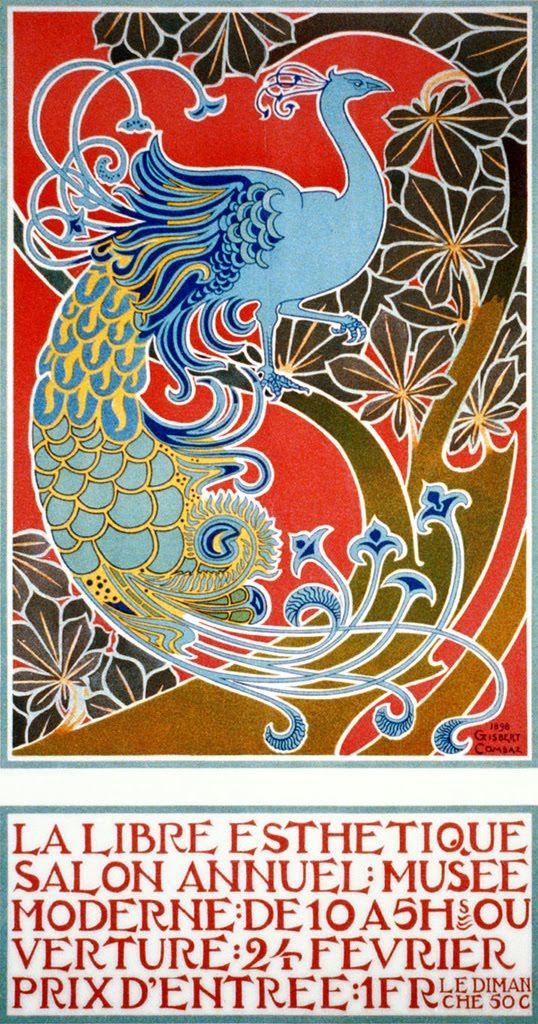 265 best Art Nouveau Posters images on Pinterest Art nouveau - poster für die küche