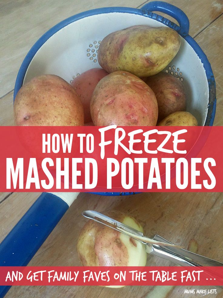 With these quick tips on how to freeze mashed potatoes you can get your family faves like shepherds pie, fish pie and fish cakes on the table fast ...