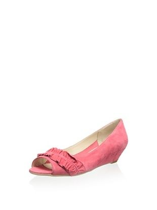 52% OFF Butter Women's Jackson Ruffle Demi Wedge (Melon)