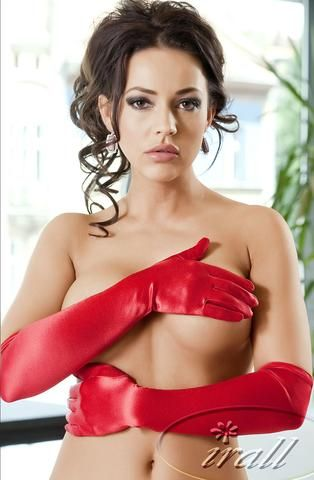 Irall Erotic Astrid Gloves (Red)