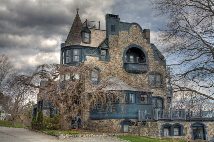 Camden Inn Maine >> Norumbega, Camden, Maine, completed in 1886 for Joseph Barker Stearns. The architecture of the ...
