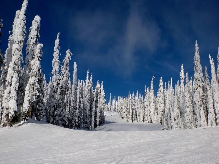 Big White Ski Resort, BC, Canada