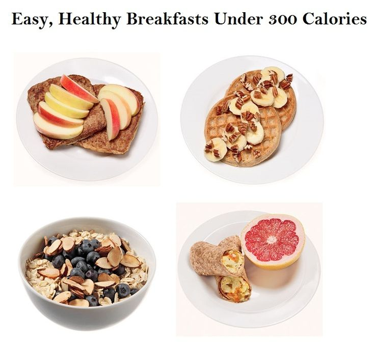 Easy, healthy breakfasts under 300 calories