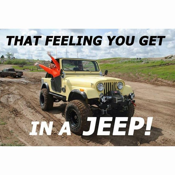 Jeep life. pic.twitter.com/BW2sGYjP8l #jeepedin