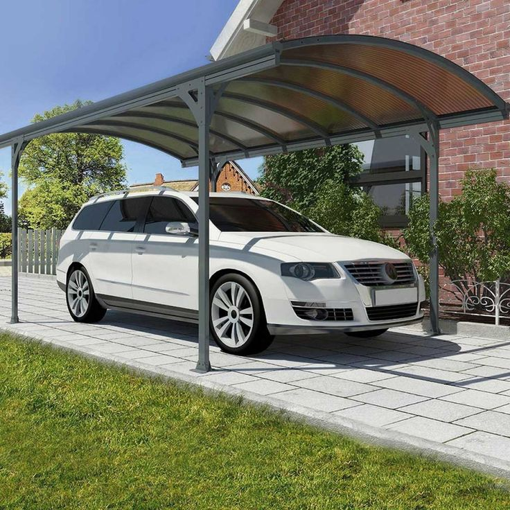 Polycarbonate #carport, Car Canopy, Cantilever Carport, Car #Canopy Carports #Garages