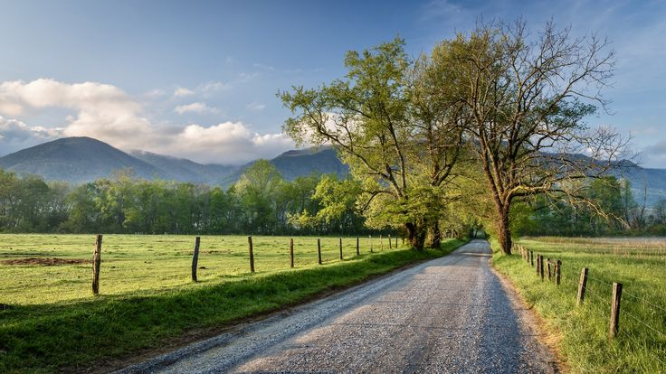 ***Sparks Lane (Cades Cove, Great Smoky Mountain National Park, Tennessee) by Jeremy Duguid cr.