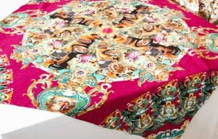 Printing and production of tablecloths.
