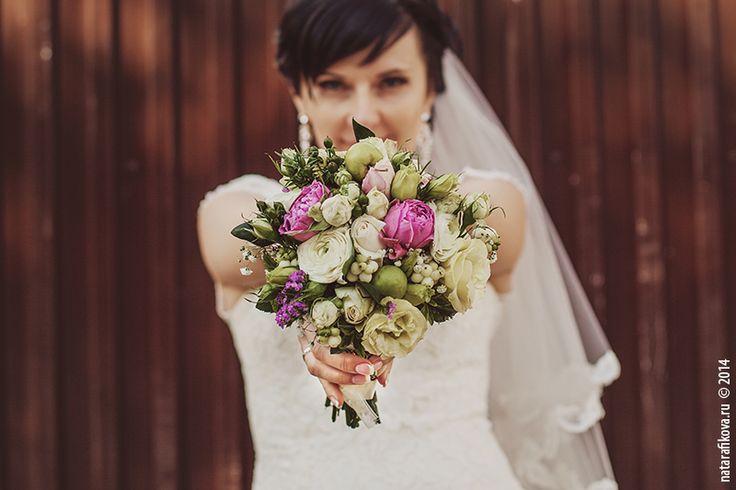 bridal bouquet bride Anastasia  ----  Свадебный фотограф Ната Рафикова