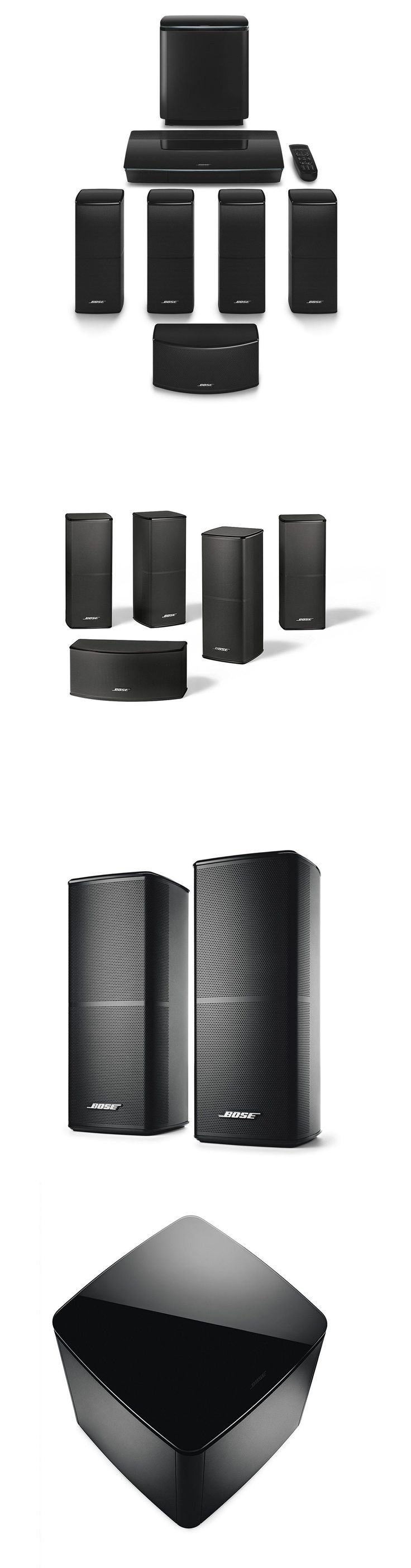 Bose soundtouch 130 home theater system black 738484 1100 b amp h - Home Theater Systems Bose Lifestyle 600 Home Entertainment System Black Buy It Now