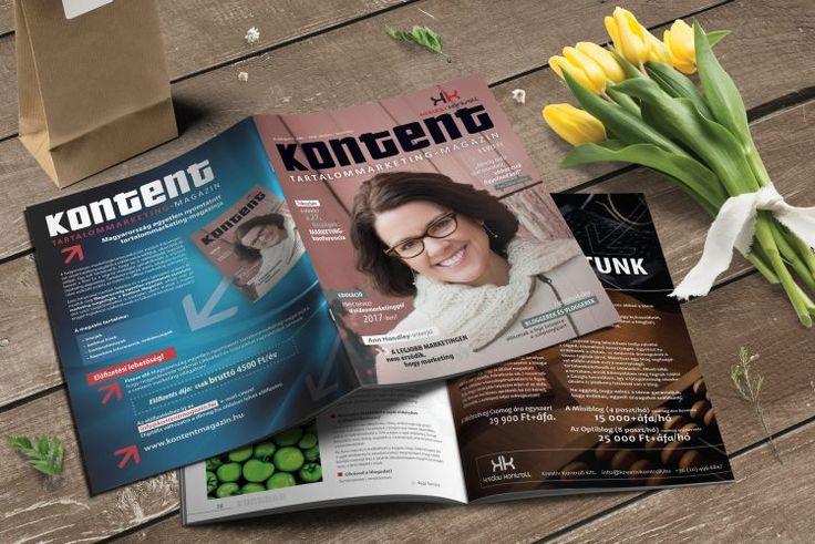 Kontent Tartalommarketing Magazin - Arculattervezés, kreatív grafika, webdesign, könyv tördelés, DTP