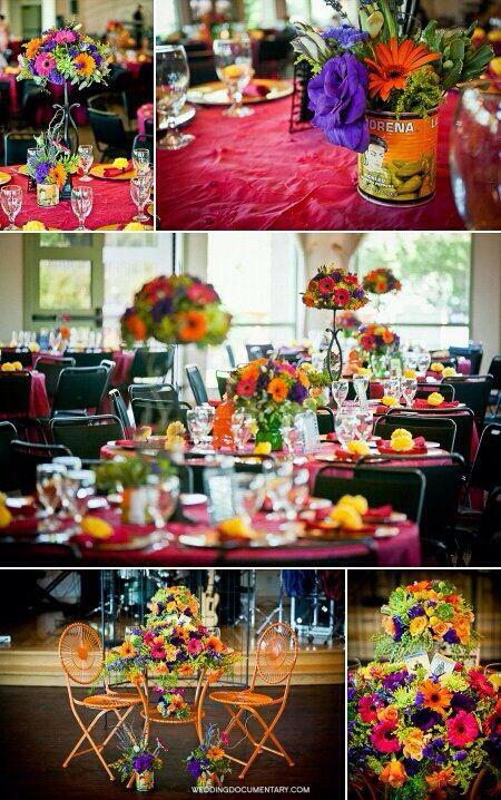 Centros de mesa boda mexicana boda pinterest mesas for Decoracion mexicana